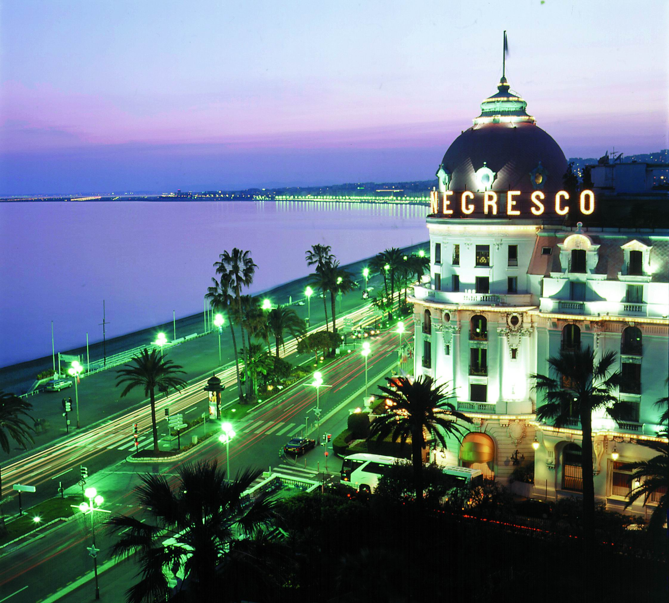 Le negresco nice prestige for Hotels unis de france