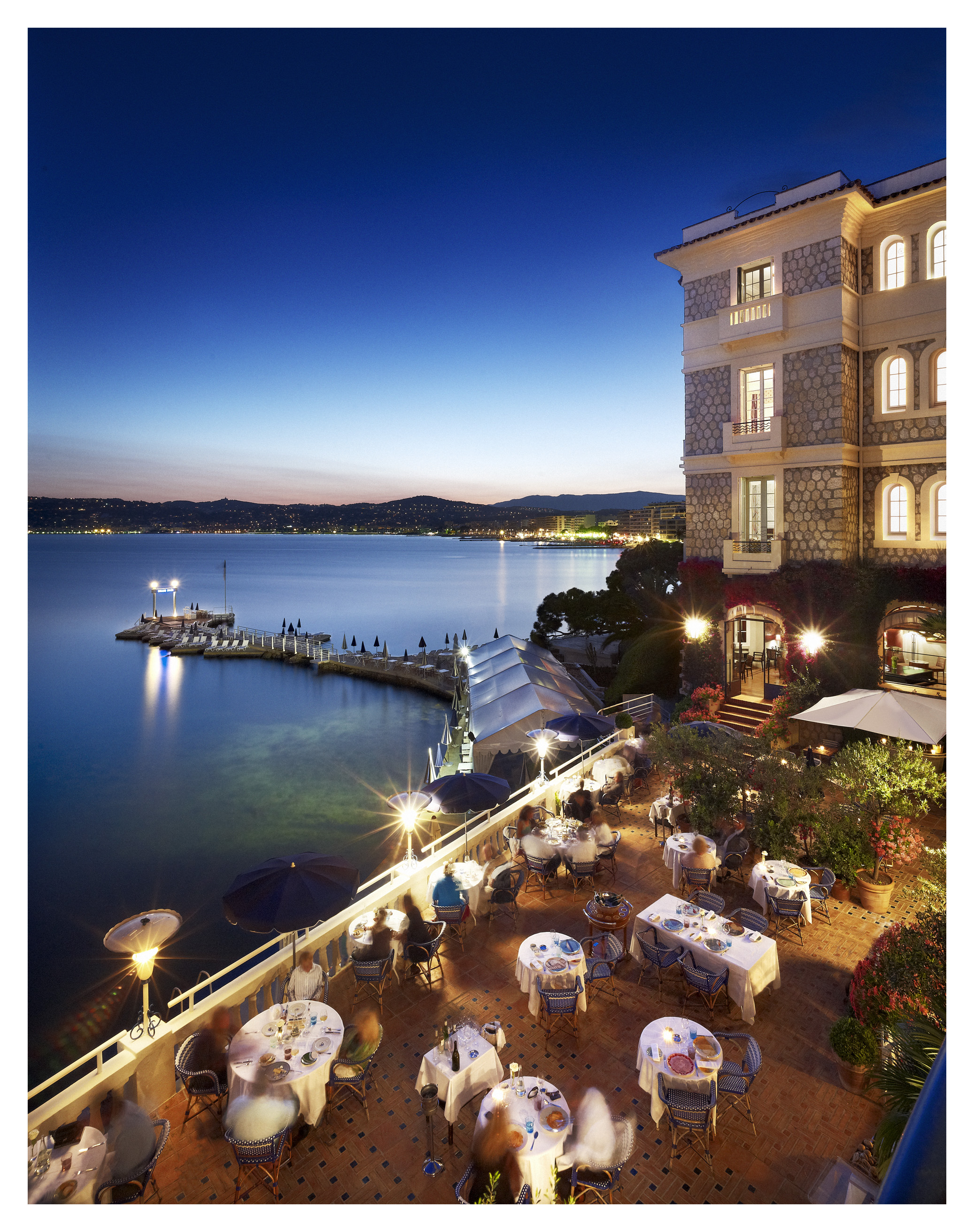 Hotel Belles Rives Juan Les Pins Restaurant