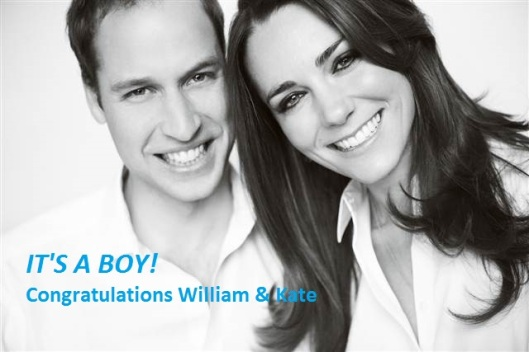 Prince Wiliam & Kate Middleton Welcome A Baby Boy